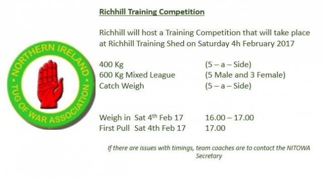 Richhill Training Competition