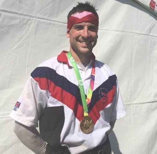 World Games 'Gold' for Eddie Shannon