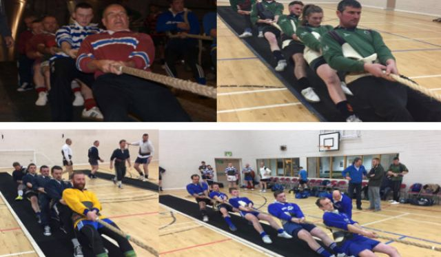 Derry team pull in Northern Ireland tug-o'-war title